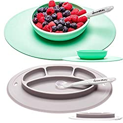 UpwardBaby Suction Baby Plates and Bowls Set for Babies Review