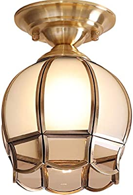Amazon.com: KY LEE American Copper Aisle lamp Porch lamp ...