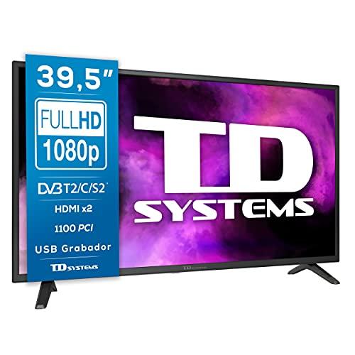 TD Systems K40DLJ12F - Televisores 39,5 Pulgadas Full HD 2X