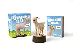 The Screaming Goat officially Licensed Become the owner of your very own screaming goat with this desktop companion. Press the tree stump button to hear the high-pitched bleats that caused the screaming goat sensation to go viral. Kit also includes a...