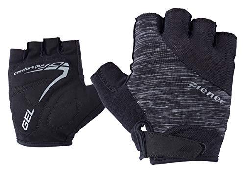 Ziener Erwachsene CENIZ Fahrrad-/Mountainbike-/Radsport-Handschuhe | Kurzfinger - Atmungsaktiv/dämpfend, Black Melange, 9
