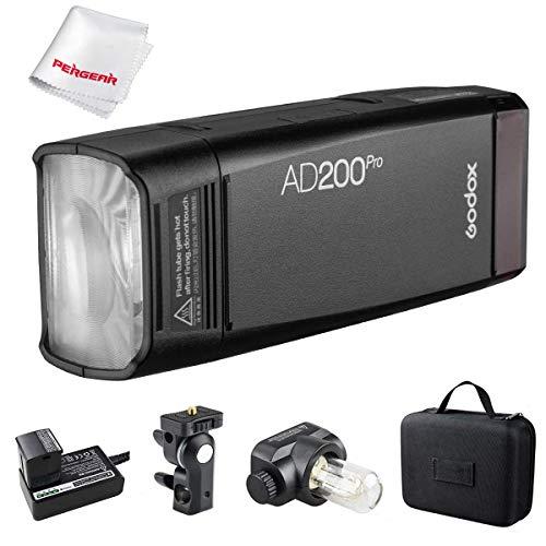 【Godox正規代理店&PSEマーク】Godox AD200Pro フラッシュストロボ ポケットサイズ 無線制御 高速同期など 撮影補助光