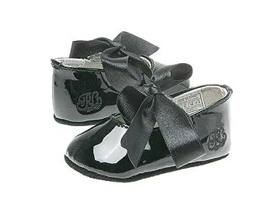 Polo Ralph Lauren Kids Briley (Infant/Toddler) (Black Patent) Girls Shoes