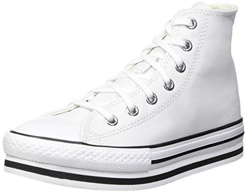 Converse Chuck Taylor All Star Move, Zapatillas Mujer, Bianco, 37 EU