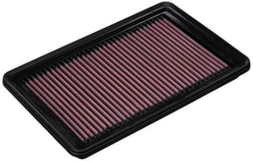 K&N Engine Air Filter: High Performance, Premium, Washable, Replacement Filter: 2010-2019 Mazda L4 2.0/2.3/2.5L (CX-5, 3, 6, Atenza, Biante, Premacy, Axela), 33-2480