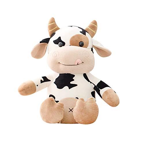 CHENGCHAO Juguetes de Peluche Muñeca de Vaca Grande Juguete de Peluche rellena Llena de Dibujos Animados Lindo de la muñeca de la muñeca de la Almohada de la Almohada Regalo de cumpleaños reg