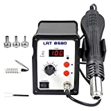 110V Digital Hot Air Rework Station, SMD Lead Free Desoldering Station with 3