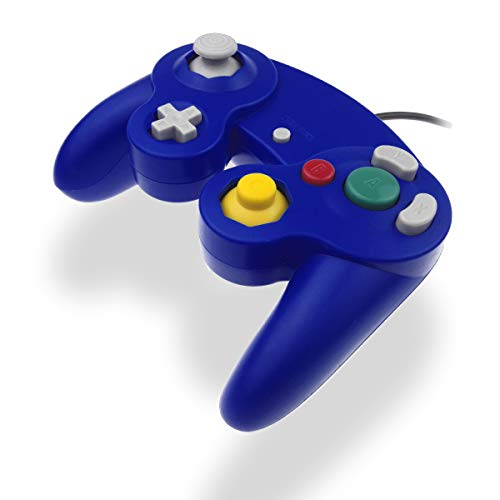 GC Controller Joystick für Wii Wired Game Controller Joypad Dual Vibration NGC Gamepad Game Cube Original Controller GC Spiele für GameCube & Wii