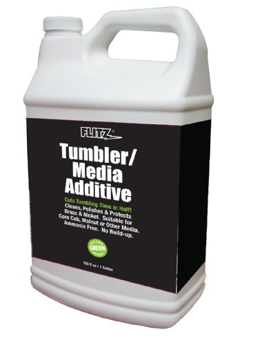 Flitz TA 04810 Tumbler Media Additive, 1 Gallon Refill Bottle