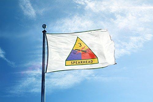 3Rd Armored Division Spearhead Army Garage Hangar Basement Flag 3x5 Feet