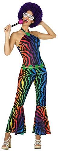 Atosa-38615 Disfraz Disco, Multicolor, M-L (38615)