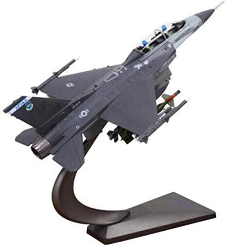 ZWJWJ Skulptur 1/72 Skala Navy F-16 C/D Fighting Falcon Flugzeug Modell Erwachsene Kinderspielzeug Ausstellung Display Sammlung