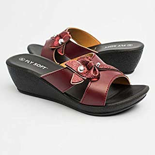 FLY SOFT Brick Red For Women