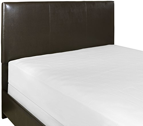 Crosley Furniture Drake Faux Leather Headboard, Full/Queen, Brown Leatherette