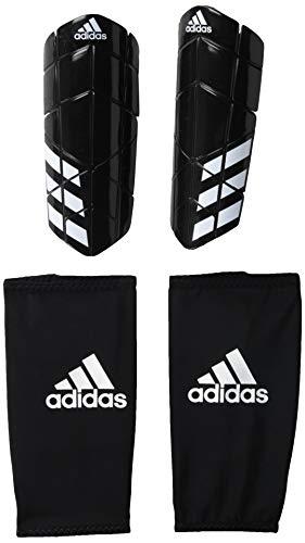 adidas Adult Ever Pro Shin Guards, Black/White/Style 3, Medium