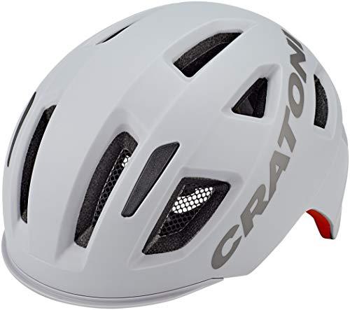 Cratoni Unisex– Erwachsene C-Pure (City) Fahrradhelm, Grau, One Size
