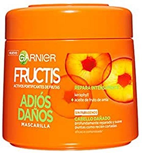 Garnier Fructis Adios Daños Mascarilla Reparadora para Cabello Dañado - 300 ml