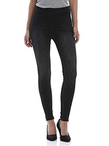 Bench Damen Skinny Jeanshose CYLINDER V1, Gr. W30/L32 (Herstellergröße: 30), Schwarz (Dark Worn - Black WA018BK)