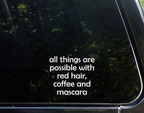 Alle dingen zijn mogelijk met rood haar, koffie en mascara (4-1/4