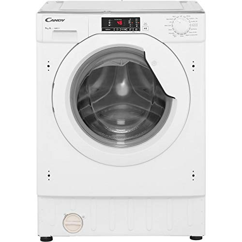 Candy CBWM916D Integrated 9Kg Washing Machine with 1600 rpm - A+++ Rated