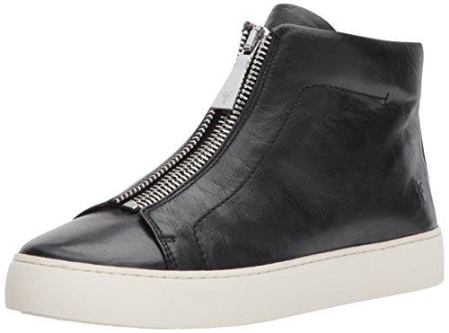 FRYE Women's Lena Zip HIGH Fashion Sneaker,