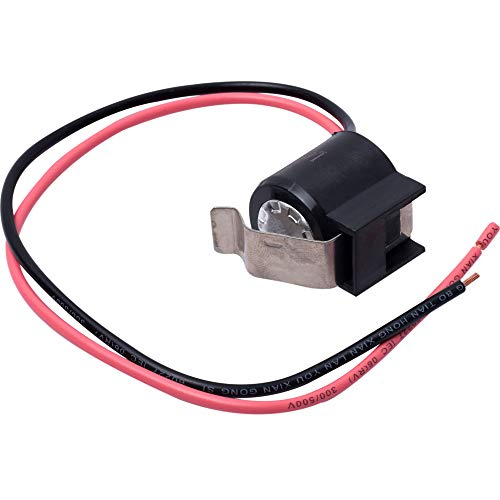 Price comparison product image W10225581 Refrigerator Bimetal Defrost Thermostat Replacement part by Blue Stars - Exact Fit for Whirlpool KitchenAid Kenmore Refrigerators - Replaces WPW10225581 PS11750673 2149849 AP6017375