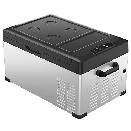 Mini refrigerador 50 litros Grande eléctrico portátil Refrigerador de compresión de bajo...