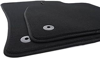 Fußmatten passend für Octavia III Velours Automatten Zubehör Innenausstattung 2 teilig schwarz