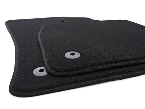 Fußmatten passend für Octavia III Velours Automatten Zubehör Innenausstattung 2-teilig schwarz