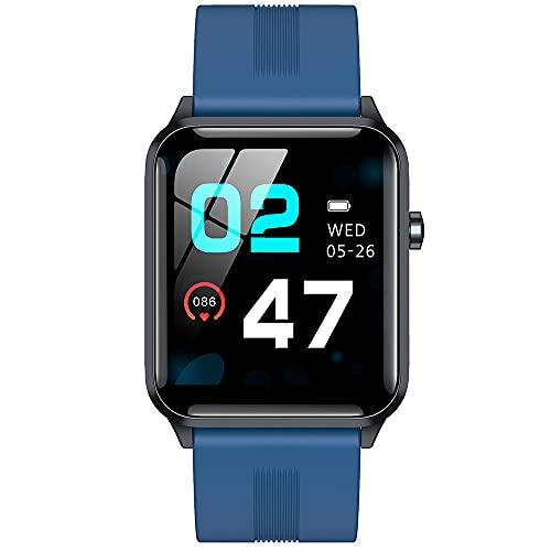MOTION Pulsera Inteligente, Relojes Inteligentes Color Pantalla Deporte Podómetro, Corazón Velocidad Monitor Empujar Mensaje para iOS Android, Impermeable Aptitud física Rastreador Dormir Rastreador