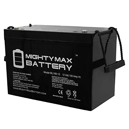 Mighty Max Battery 12V 100AH Battery for Solar Wind DEEP Cycle VRLA 12V 24V 48V Brand Product