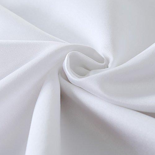 Peijco Hotel Home Tischdecke Konferenz Hochzeitsbankett Runde Tischdecken Verschiedene Größen (Color : Off-White, Size : Round 320cm)
