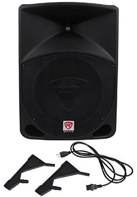 "Rockville RPG12 12"" Powered Active 800 Watt 2-Way DJ PA Speaker System by Audiosavings"