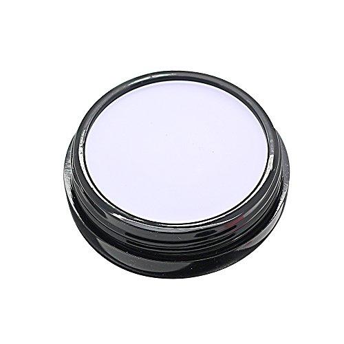 Mallofusa Single Color Face Makeup Concealer Foundation Palette Creamy Moisturizing 0.49oz (Purple)