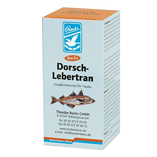 Backs Dorsch-levertraan 500 ml (Bacalao-leverolie)