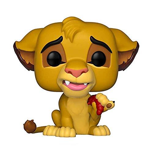 Funko - Pop Vinyl - Disney El Rey León Figurina Simba, Multicolor (36395)