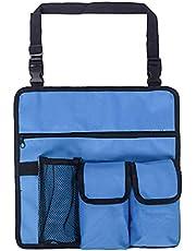 Allwiner Strandstoel armleuning tas hanging opslag organisator campingstoel schouder-zijtas-tassen-blauw, tuin & handgereedschap
