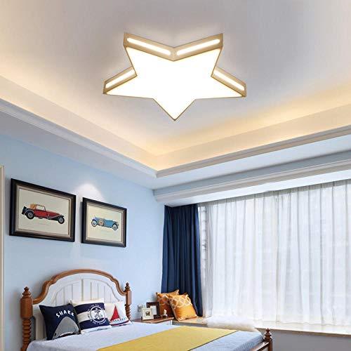 Plafondlamp Jimei royal ronde LED slaapkamer verlichting vijf sterren plafondlamp ultra dunne kunst