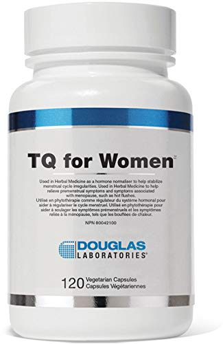 Douglas Laboratories - TQ for Women - Helps Normalize Hormones and Stabilize Menstrual Cycle Irregularities - 120 Capsules