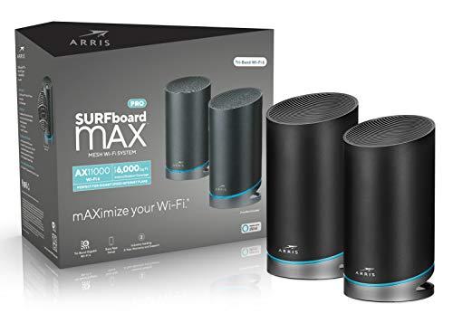 ARRIS Surfboard Max Pro Mesh Wi-Fi 6 AX11000 System