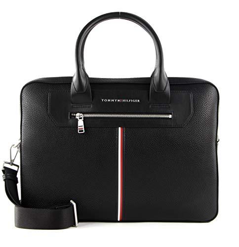 Tommy Hilfiger TH Downtown Super Slim Computer Bag Black