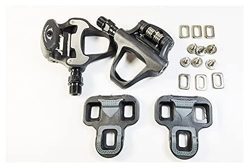YINHAO R31 Rodamiento de Nylon LOOKE-KEO Clients sin Clips Pedal Fit para Bicicleta de Carretera (Color : with Cleat)