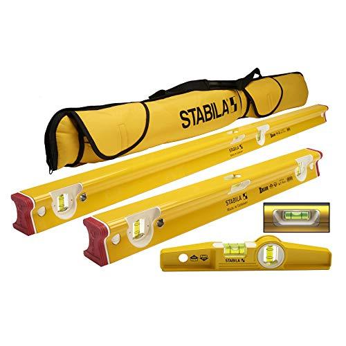 STABILA R Beam 3 Level Tool Set Type