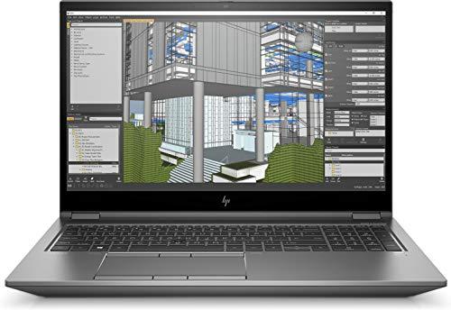 HP ZBook Fury 15 G7 - Estación de Trabajo móvil (39,6 cm) - Core i7 10750H, Color Plateado