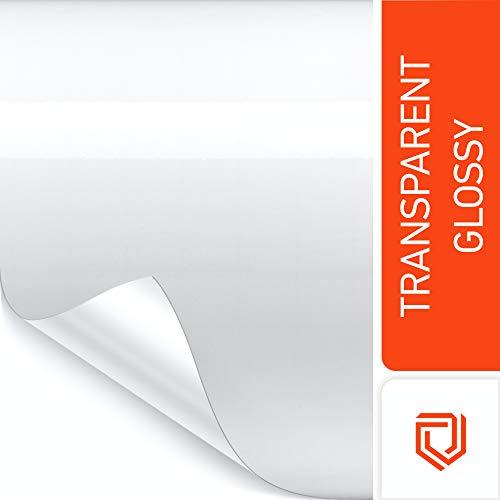 Luxshield Lackschutzfolie 15x100cm für Auto, Motorrad, Bike - Schutzfolie transparent, selbstklebend, Meterware aus DE