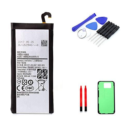 kaputt.de AKKU Set Batterie für Samsung Galaxy A5 (2017) | 3000 mAh | 3,8 V | EB-BA520ABE | DIY Reparaturset