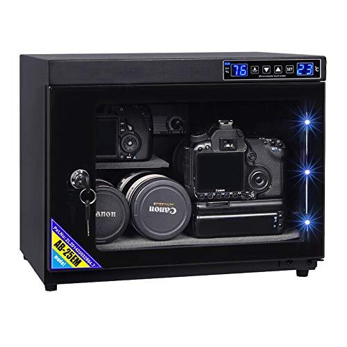 Spolehli - Deumidificatore automatico con controllo digitale per fotocamera, intelligente e portatile, per fotocamera, per dispositivi elettronici, per riporre gioielli da tè (25 L)