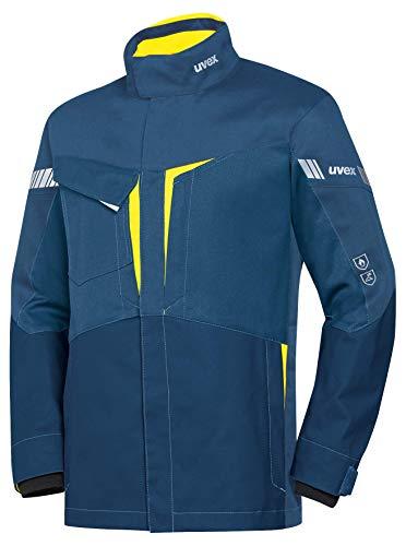 Uvex Protection Metal 8933 - Blaue Sicherheitsjacke für Herren - Gr XS