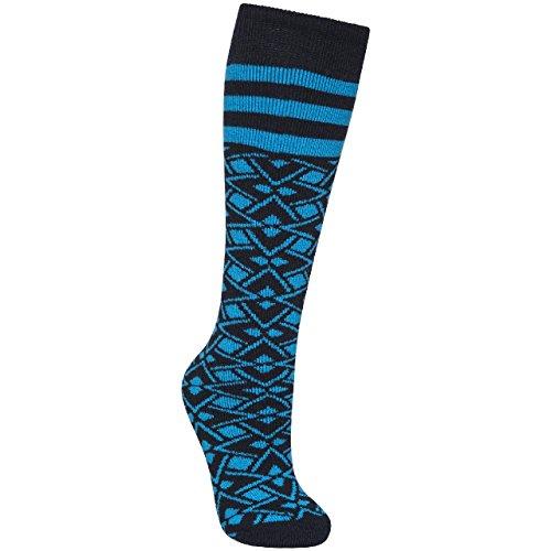 Trespass Damen Marci Ski-Socken (36-42 EU) (Lagune Geo Print)