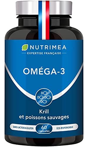 Omega 3 & Krill d'Antarctique | Huile de Poissons...